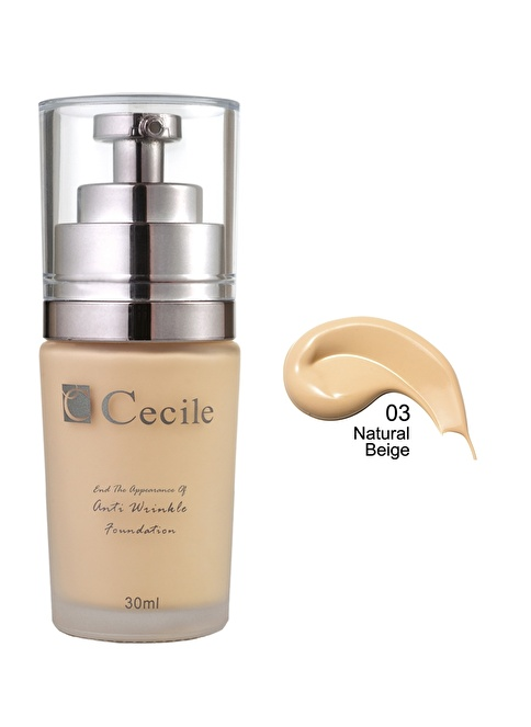 Cecile End The Appearance Of Anti Wrinkle Foundation Ten